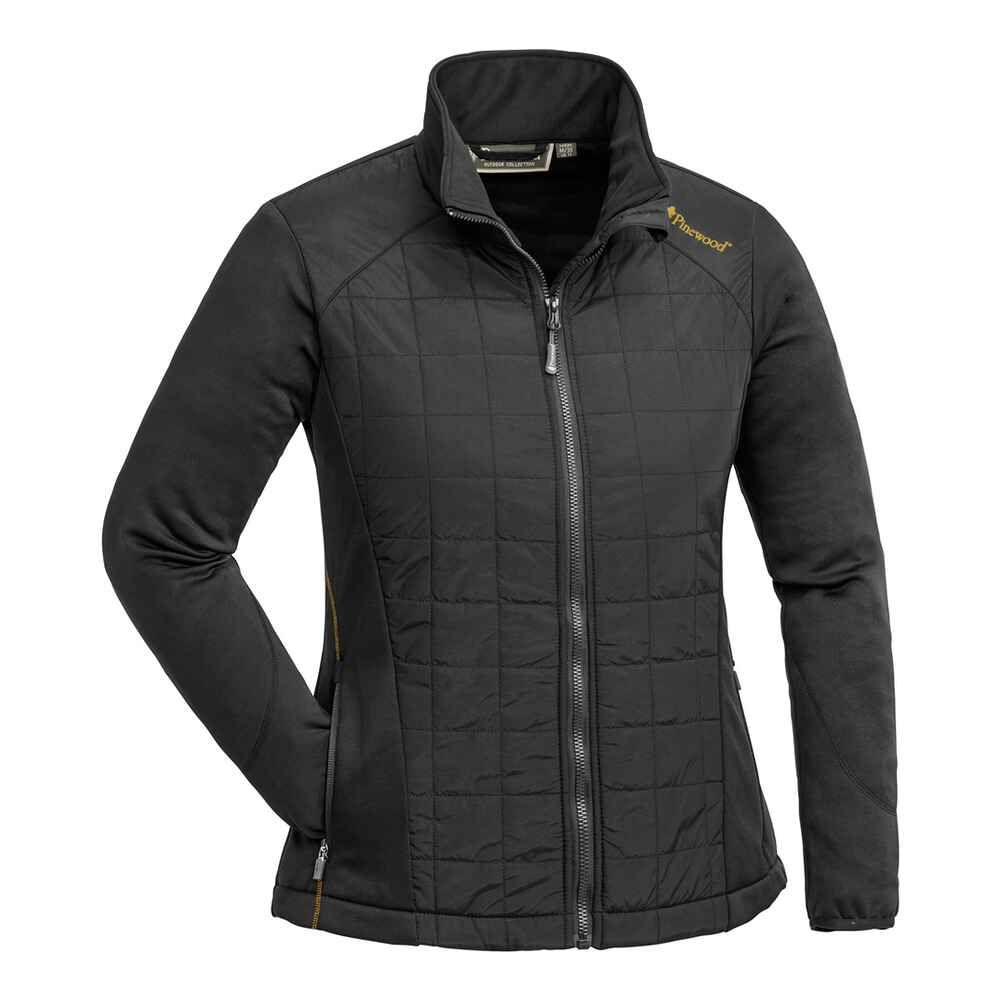 Damen Fleecejacke Thelon Padded, Pinewood