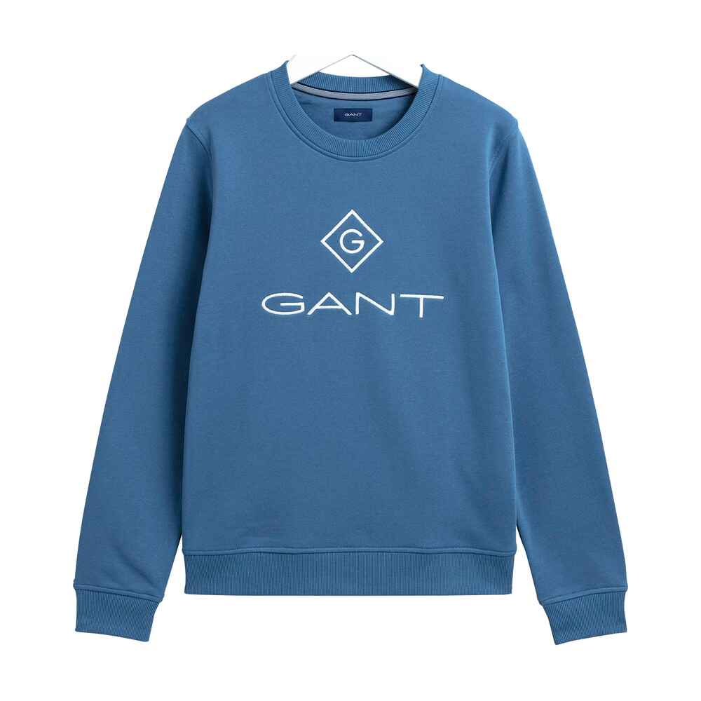 Sweatshirt Lock Up C-Neck, Gant