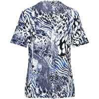 T-Shirt mit Animalprint, Clarina