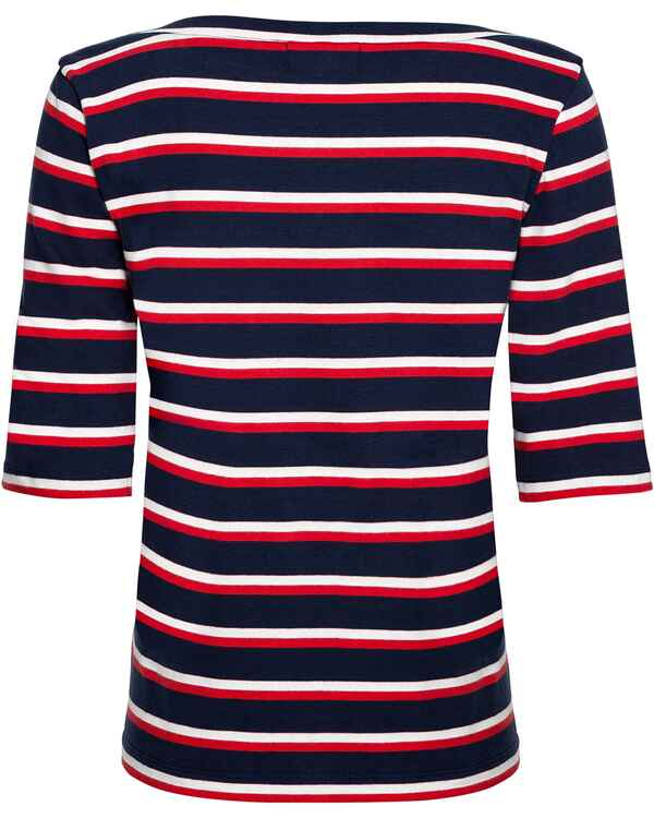 T-Shirt Harbor Multistriped, Derbe