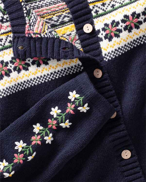Jacquard-Strickjacke, REITMAYER