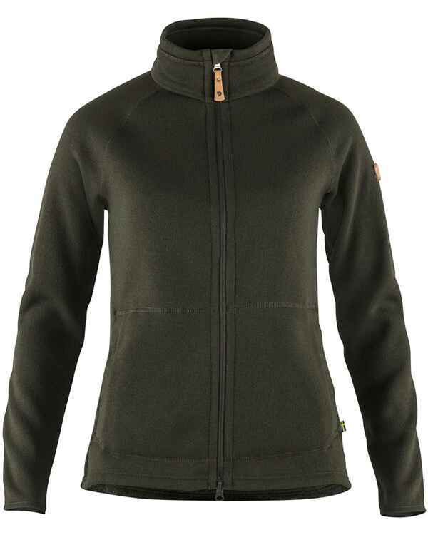 Damen Fleecejacke Övik Fleece Zip, Fjällräven