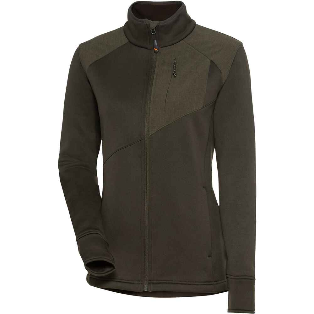 Damen Powerstretch Fleecejacke LMG, Parforce