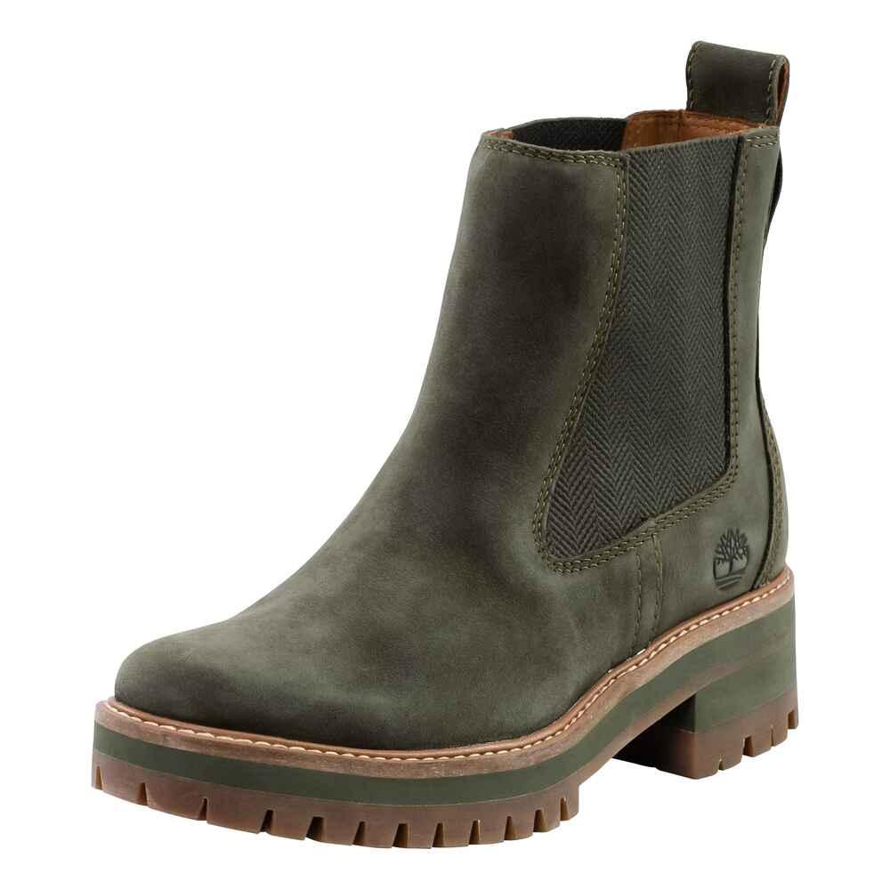 timberland chelsea boots courmayeur oliv damenschuhe schuhe damenmode mode online shop. Black Bedroom Furniture Sets. Home Design Ideas