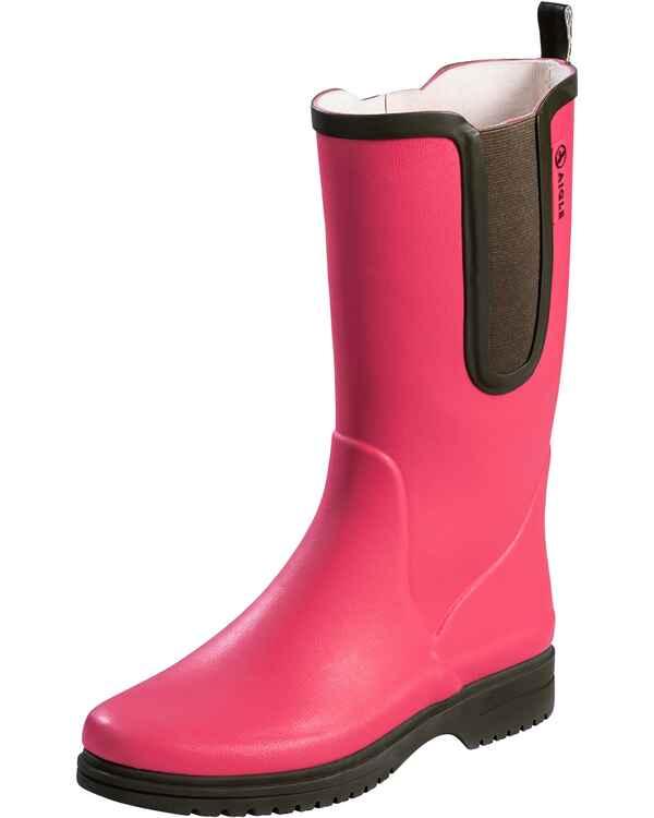 a1397aa5bcdfee Aigle Gummistiefel Egoa (Himbeere Khaki) - Damenschuhe - Schuhe ...