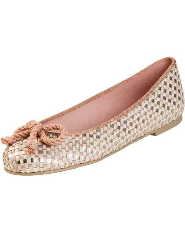 Pretty Ballerinas Flecht-Ballerinas (Rosa) - Damenschuhe - Schuhe ... e00b224426