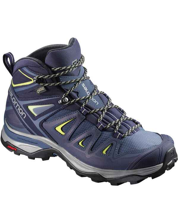 Damen Trekkingstiefel X Ultra 3 Mid GTX, Salomon