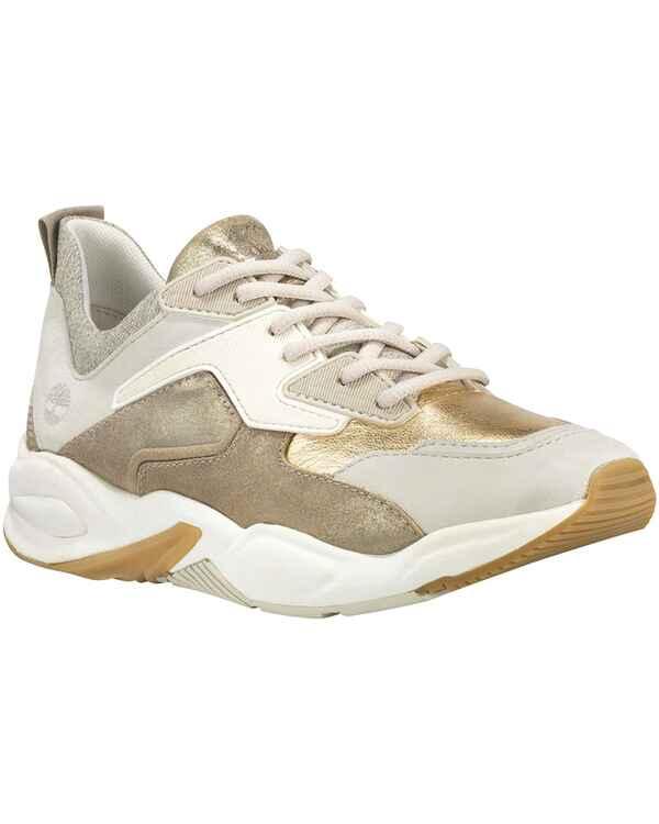 5a8a7e1f6b1462 Timberland Leder-Sneaker Delphiville (Goldfarben) - Damenschuhe ...