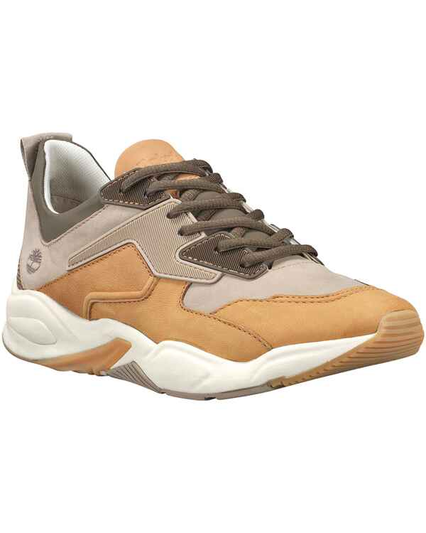 e25dd49cb1da52 Timberland Leder-Sneaker Delphiville (Beige) - Damenschuhe - Schuhe ...
