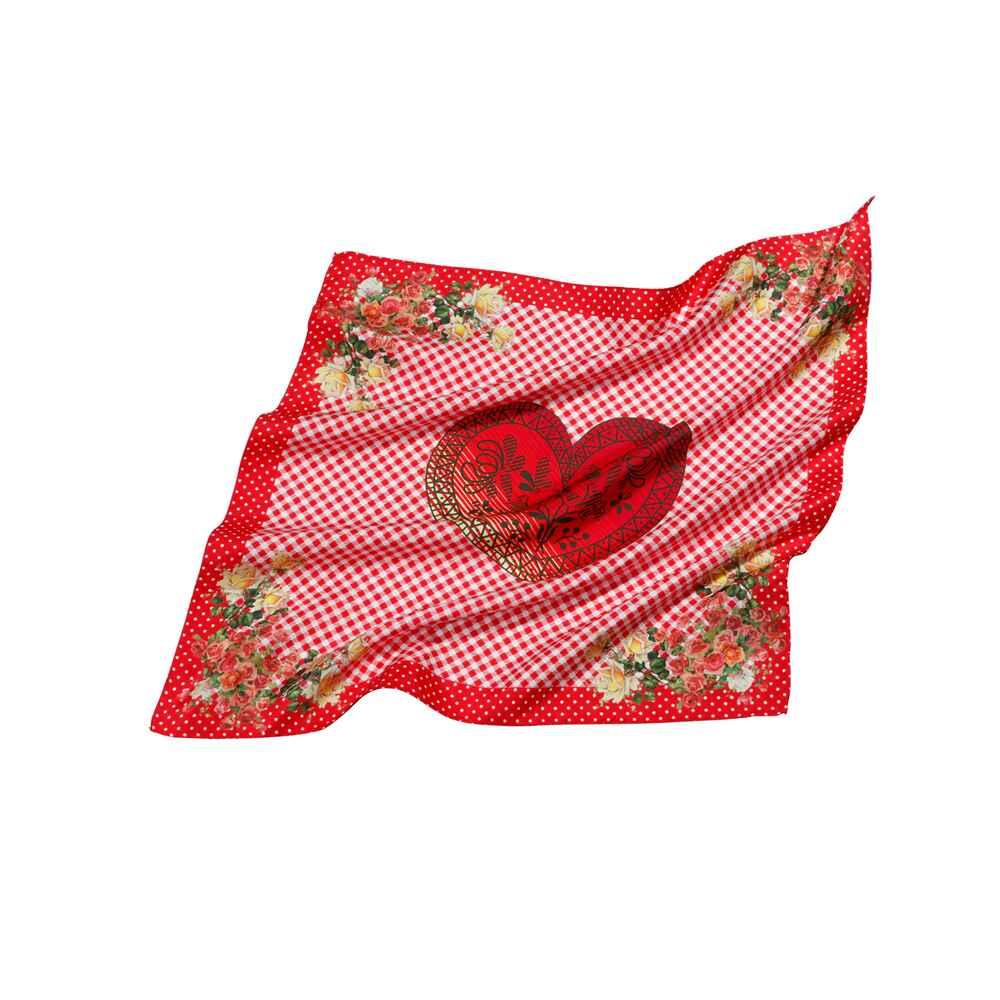 reitmayer seidentuch mit rosen rot bis 30 euro. Black Bedroom Furniture Sets. Home Design Ideas