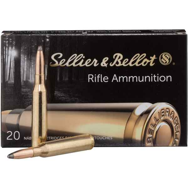 S+B 6,5x57 SP-S 131grs. 20St, Sellier & Bellot