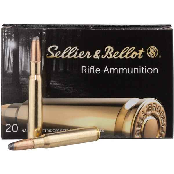 S+B .30-06Spr. SP-S 180grs. 20St, Sellier & Bellot