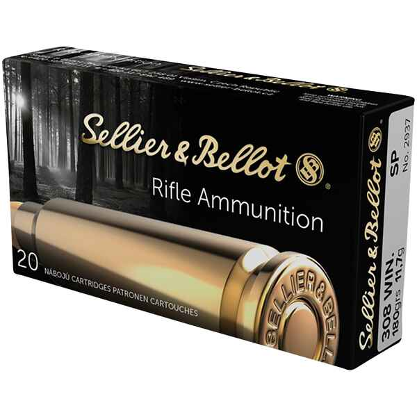 .308 Win. Teilmantel 180 grs., Sellier & Bellot