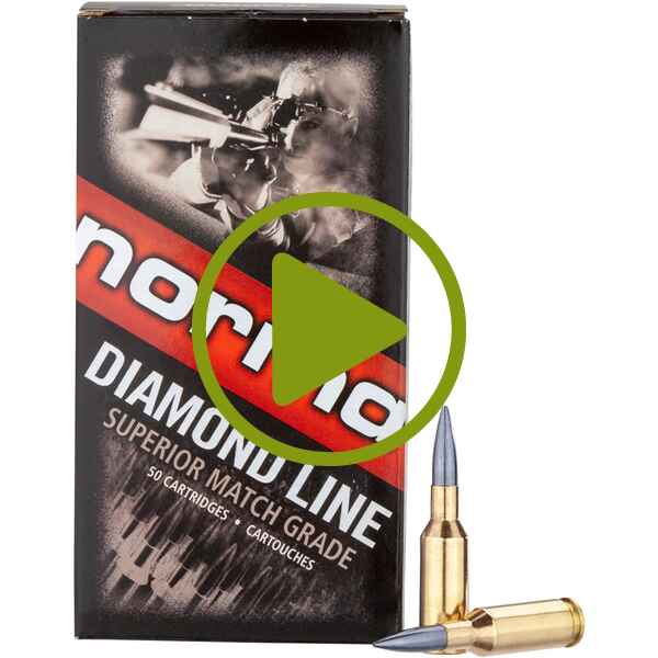6 mm Norma BR Diamond Line Berger Match 6,8g/105grs., Norma
