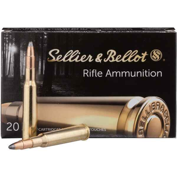 S+B 7x57R SP 173grs. 20St, Sellier & Bellot