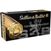 9 mm Luger Vollmantel 8,0g/124 grs., Sellier & Bellot
