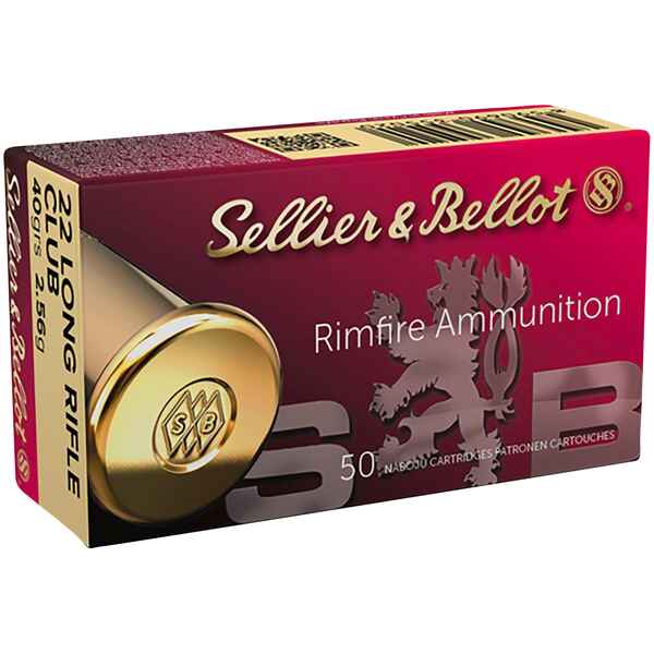 .22 lfB Club 2,6g/40grs., Sellier & Bellot