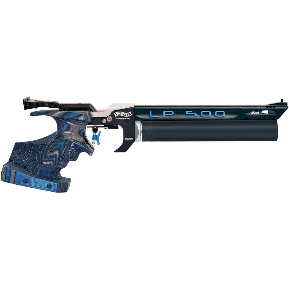 Match Luftpistole 500 Expert Blue Angel, Walther