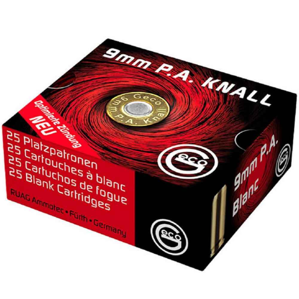 Knallpatronen 9 mm P.A., Geco