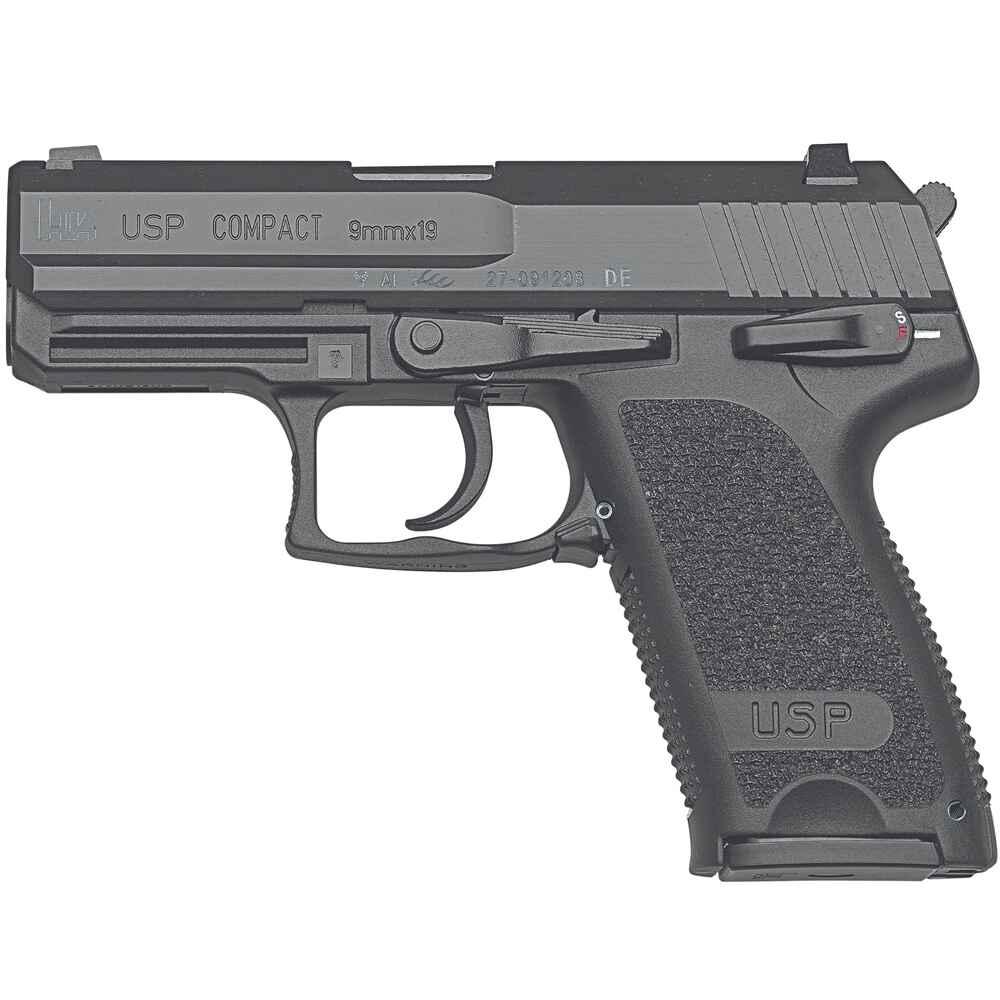heckler koch pistole usp compact pistolen kurzwaffen. Black Bedroom Furniture Sets. Home Design Ideas