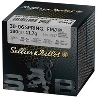 .30-06 Spr. Vollmantel 11,7g/180grs., Sellier & Bellot