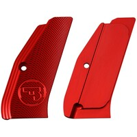 Aluminum grip panels, long, for SP-01, CZ