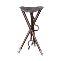 Three-legged raised stand seat with metal tips, Parforce