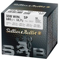 Hunting cartridges, .308 Win, Sellier & Bellot