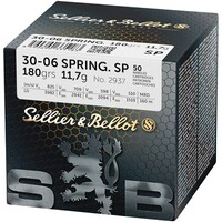 Hunting cartridges, .30-06 Spr, Sellier & Bellot