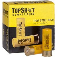 12/70 Trap Steel 2,5mm 24g, TOPSHOT Competition