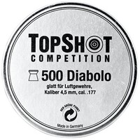 4,5 mm Diabolo glatt, TOPSHOT Competition