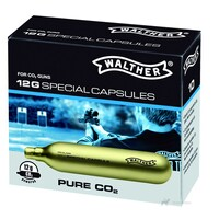 12 g CO2 capsules / 10-pack, Walther
