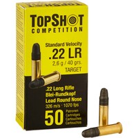 .22 lr. Standard Velocity Target, TOPSHOT Competition