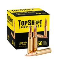 .308 Win. FMJ 9,6g/148 grs., TOPSHOT Competition
