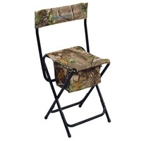 Hide stool, High-Back Chair Real, Ameristep