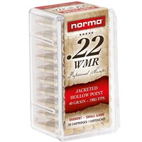 .22 Win. Mag. JHP 2,6 g/40 grs., Norma