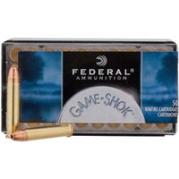 .22 Win. Mag, JHP Game-Shok 50 grs., Federal Ammunition