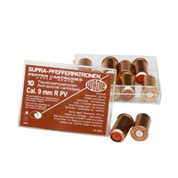 Wadie pepper spray cartridges, 9 mm, Wadie