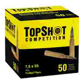 7,5x55 Vlm BT 11,3g/174grs., TOPSHOT Competition