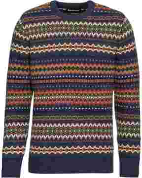 Pullover Case Fairisle, Barbour