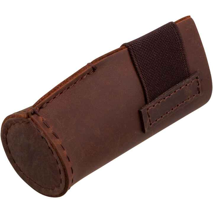 Muzzle protector, leather