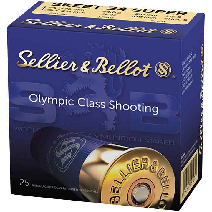 12/70 Super Skeet 24 g, 2,0 mm, Sellier & Bellot