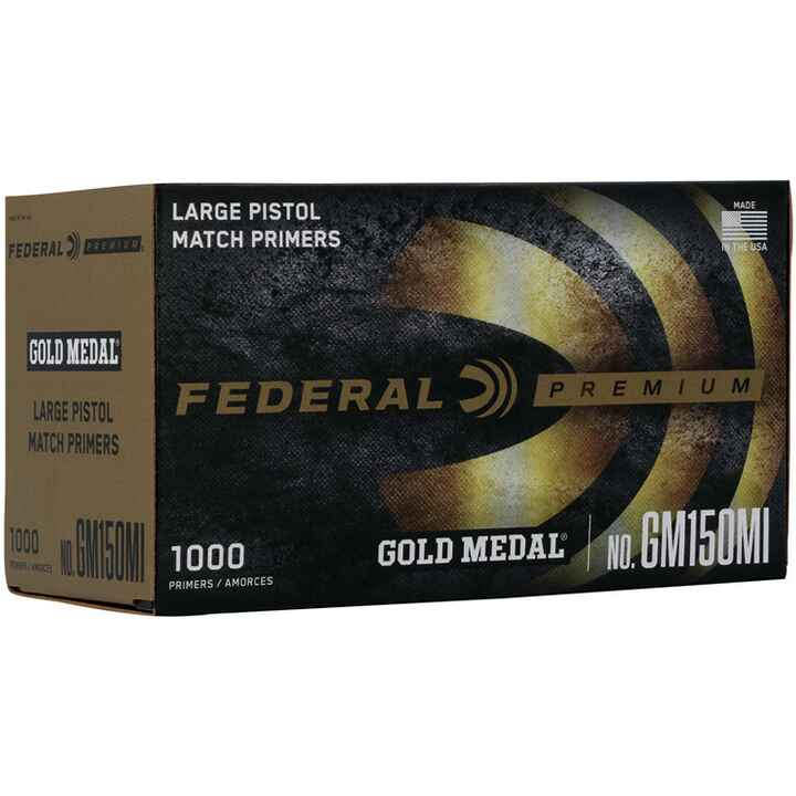 Federal Zündhütchen L.P.  Match, Federal Ammunition