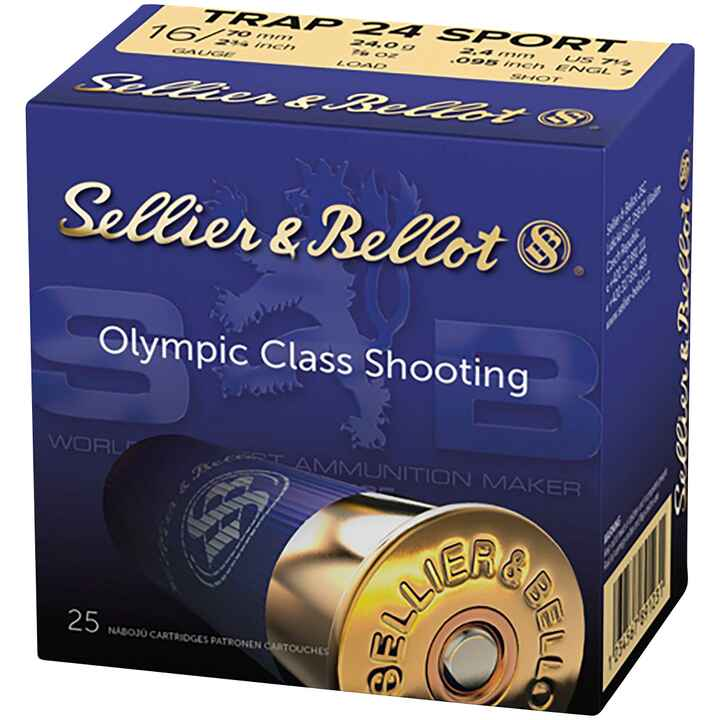 16/70 Sport Trap 2,4mm 24g, Sellier & Bellot