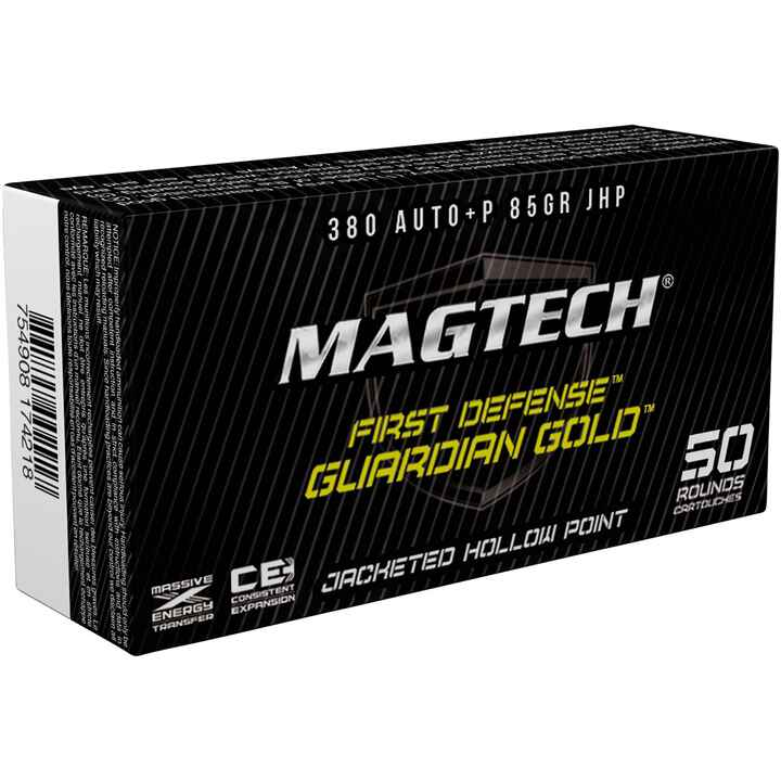 9 mm Kurz Guardian Gold JHP 5,5g/85grs., Magtech