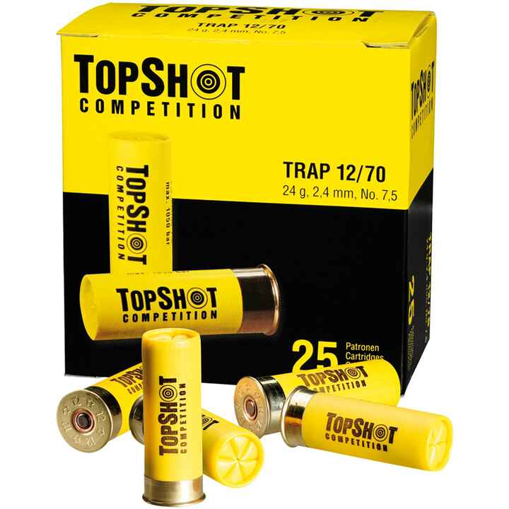 Trap 12/70 24 gr. 2,4 mm, TOPSHOT Competition