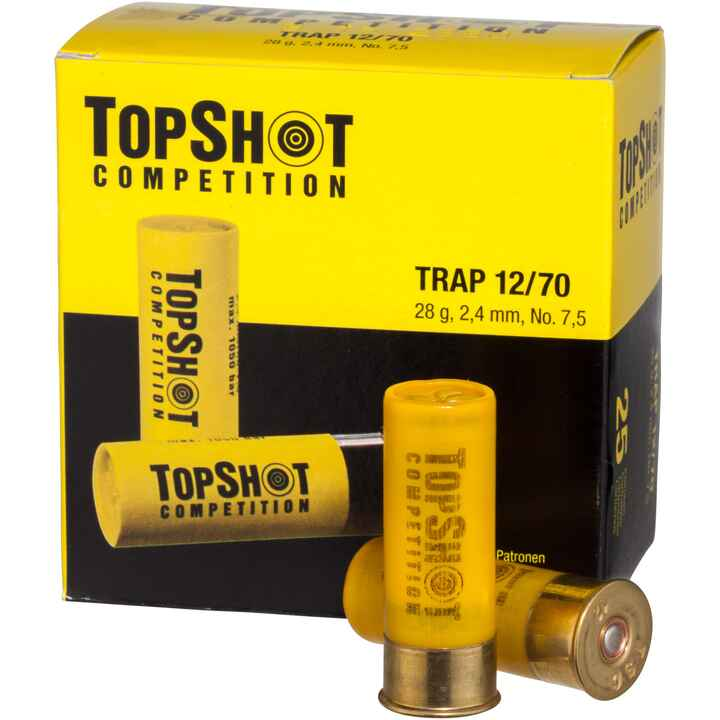 12/70 Trap 2,4 mm 28 g, TOPSHOT Competition