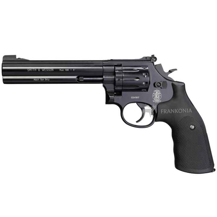 "CO2 Revolver Modell 586-6"", Smith & Wesson"
