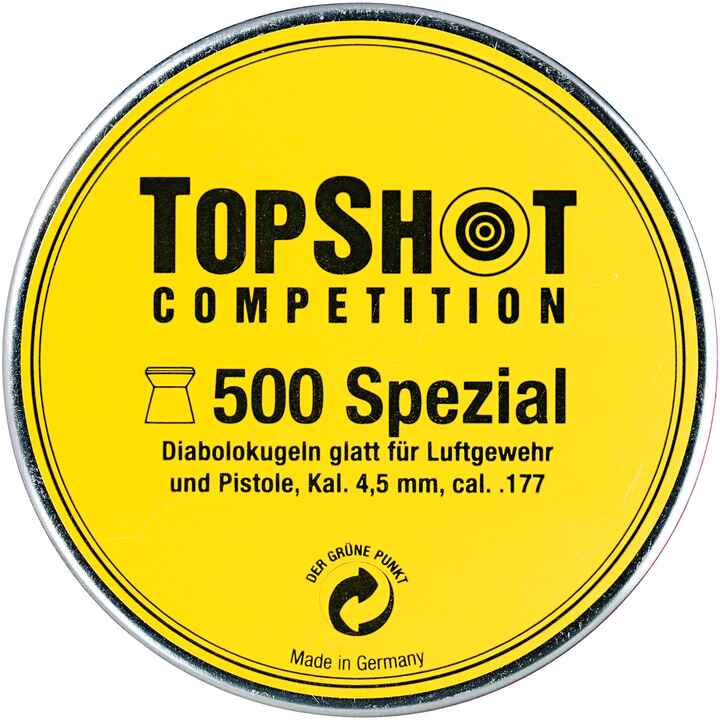 Diabolo, Spezial LG+LP, 4.5mm, TOPSHOT Competition