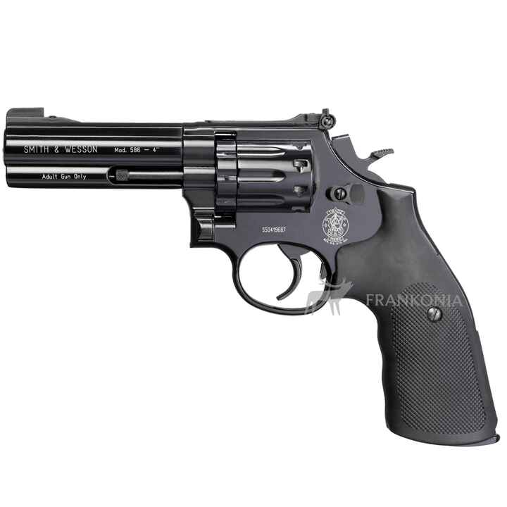 CO2 Revolver Modell 586, Smith & Wesson